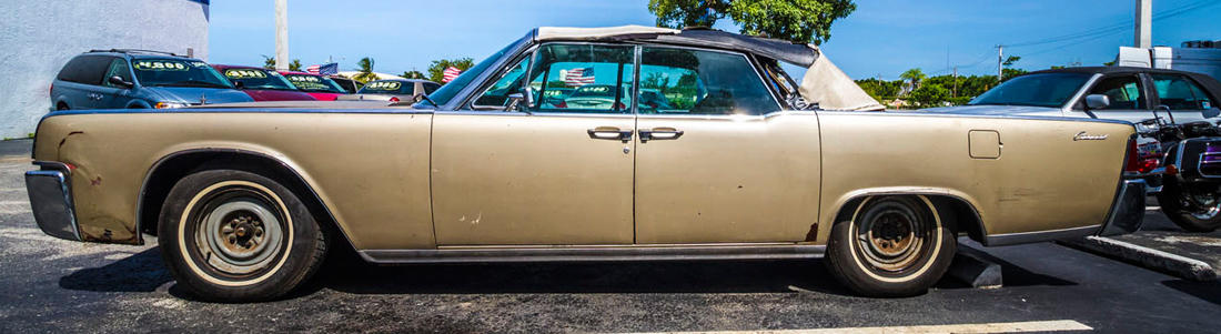 64 Lincoln Before Restoration